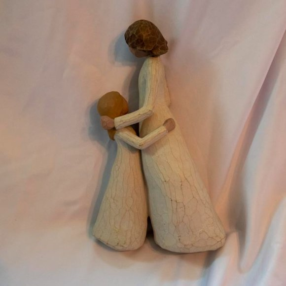 Willow Tree Figurine - Mother and Daughter - 2000